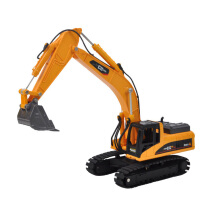 Ling speed Alloy engineering vehicle model high simulation excavator children's toy set