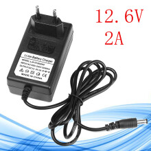 Blitzwolf DC 12.6V 2A EU Plug Adapter Charger For Lithium Ion Battery Li-ion LiPo Battery   -  -