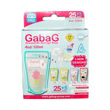 GABAG Breastmilk Storage 120 ml (1 box: 30 pcs)