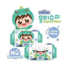POKANA Pure Water Hygiene Wipes - No Fragrance