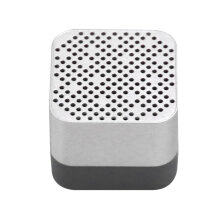 A15 Portable USB Rechargeable Bluetooth Wireless Speaker with TF FM Function Silver