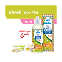 My Baby Minyak Telon Plus 60ml