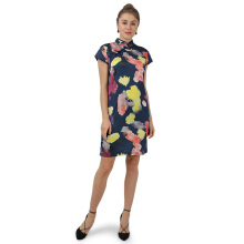 STYLEHAUS Cheongsam Dress S013 - navy