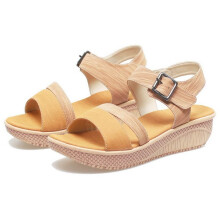 SANDAL HIGH HEELS / WEDGES KASUAL WANITA - BYI 950