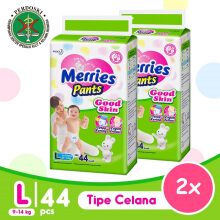 [TWINPACK] MERRIES Good Skin Popok Pants L - 44
