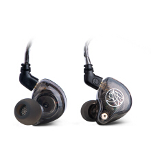 TFZ Series 2 HiFi In Ear Monitor Earphone with Detachable Cable - Transparent Black