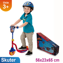 RMB Skuter Spiderman Roda Tiga D007 Red