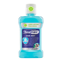 TOTAL CARE Mouthwash Coolmint New 250ml (Free 100ml)