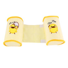 [COZIME] Baby Toddler Safe Cotton Anti Roll Pillow Sleep Head Positioner Anti-rollover Yellow