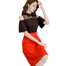 SiYing Fashion Elegant Comfortable Spring and Summer Slim Thin Women's Dress Skirt
