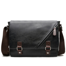 jantens  Young Fashion leather Men messenger bags casual Men