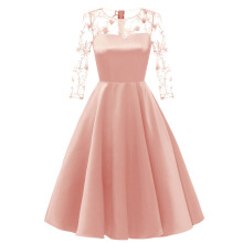 Xi Diao Sexy Applique A-line Women Party Dress