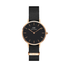 Daniel Wellington Classic Black Petite Cornwall 28mm Rose Gold