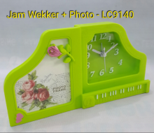 Jam Weeker / Tidur Plus Frame Photo LC 9140