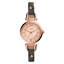 Fossil ES3862 Georgia Gray Leather Watch [ES3862]