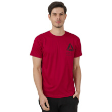 REEBOK Men Training Tee - Rich Magma