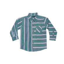 KIDS ICON - DYL Green Stripes Shirt - DYKL2200180