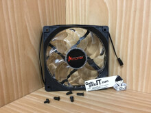 Infinity Kipas/Fan Case Komputer/Cpu/Pc Led Fan 15 Lamp 12Cm