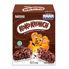 KOKO KRUNCH Sereal Bar Cokelat box 25gr x 6 pcs