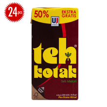 ULTRA Teh Kotak Melati Carton 300ml x 24pcs