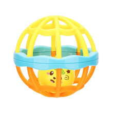 [kingstore] Newborn Toy Baby Toys Puzzle Hand Ball Hole Ball Rattle Soft Ball interactive Multicolor