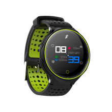 Microwear X2 Plus 1.04inch TFT IP68 Heart Rate Monitor 180Days Long Standby Smart Watch Green