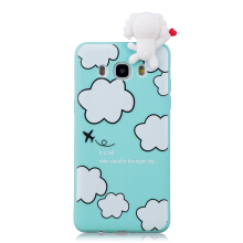 Moonmini 3D Cartoon Cute Soft TPU Dolls Toys Case for Samsung Galaxy J7 (2016) J710