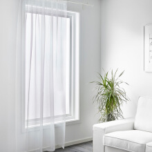 FOOJO light transparent Ying white curtain gauze finished 3 meters wide * 2.7 meters high