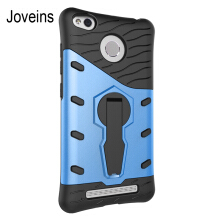 JOVEINS Xiaomi Redmi 3 3s Phone Case Multi-Layer Hybrid Protective Case with 360 Degree Rotating Stand for Cover