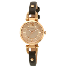 Fossil Ladies Rose  FSES3862001 Jam Tangan Wanita - Hitam Rose Gold