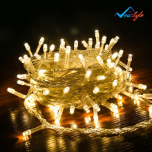LivingMall Christmas New year romantic night LED string lights 10 meters 100 lights