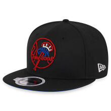 NEW ERA Neon - New York Yankees Black (9Fifty/Snapback)