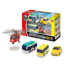 Tayo The Little Bus 4 Style Mini Cars Set 4 Original - Iconix