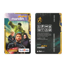 MANDIRI E-Money Avengers Infinity War Edition - Earth