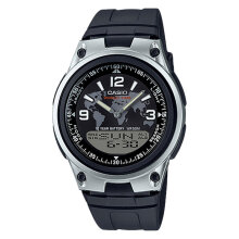 Casio AW-80-1A2VDF - 10 Year Battery - Black Resin Band [AW-80-1A2VDF]