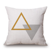 Jantens Simple and elegant sofa hug pillowcase linen cushion cover home car pillowcase
