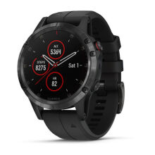GARMIN FENIX 5 PLUS DLC CARBON GRAY W/ BLACK BAND