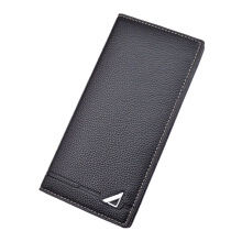 Baellerry S453 men's original imported leather wallet long Korean multi-card ultra-thin wallet men's fashion casual wallet