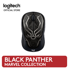 Logitech M238 Marvel Collection Mouse Wireless - Black Panther