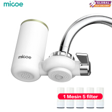 MICOE  Pemurni Air Faucet Pemurni Air Filter Dapur  1 Mesin 5 filter