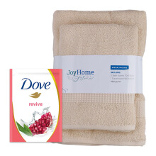 JD.ID Paket Special Bath Woven dan Body Wash Revive Refill - Ivory