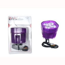 SCARLET RACING -Lampu tembak - 4 Led RGB Purple Others