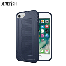 JEREFISH iPhone 6 6s 7 8 Shockproof Phone Case Rugged Hybrid Hard PC Soft Silicone Full Body Protective Phone Cover