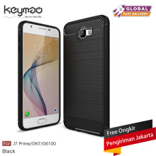 Keymao Samsung Galaxy J7 prime Case Soft TPU Silicon Full Protect Cover Black