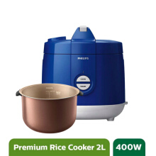 Philips Rice Cooker - HD3129/31 Premium Blue