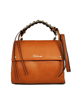 Catriona Premium Bria top handle bag - BROWN