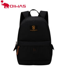 Oiwas Leisure Style Laptop Backpack Super Thin & Light School Black