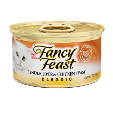 FANCY FEAST CLASSIC TENDER LIVER & CHICKEN FEAST 85gr [6pcs]