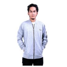 G-SHOP - MEN SWEATER JAKET HOODIES DISTRO PRIA - RDW 1482 - ABU SIZE- M