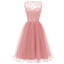 Xi Diao Sexy Women Lace Vintage Ball Gown Party Dress